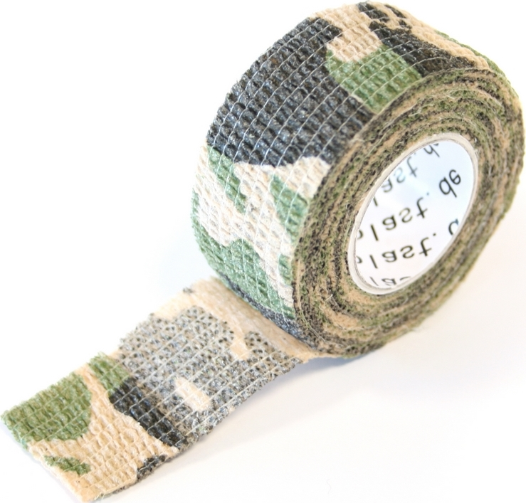 Pflasterverband 2.50cm, camouflage (1Rolle)