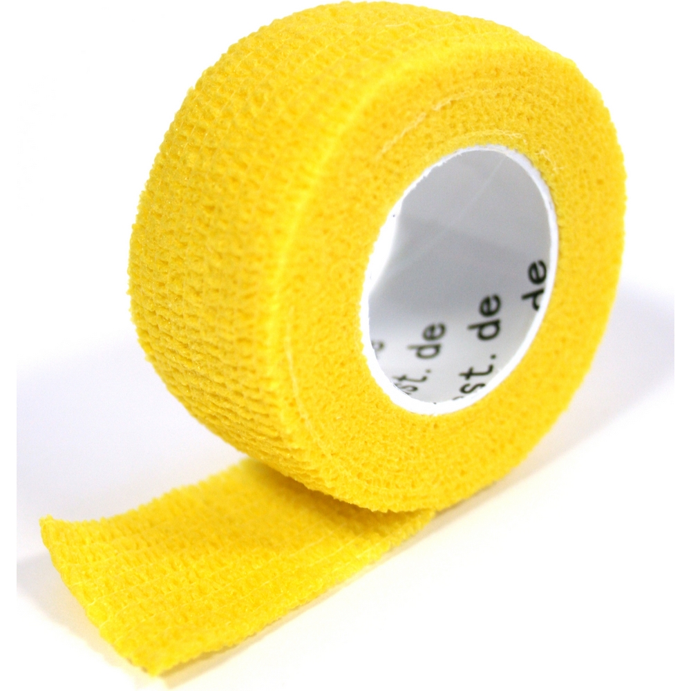 Pflasterverband 2.50 cm, gelb (1 Rolle)
