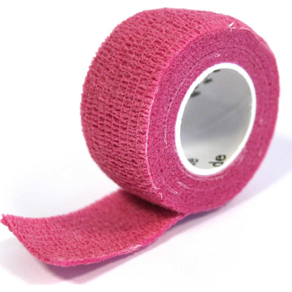 Pflasterverband 2.50 cm, pink (1 Rolle)