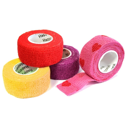 Pflasterverband 2.50 cm, «Girls-Set» (4 Rollen)