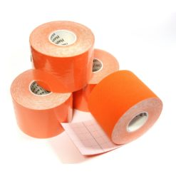Kinesiologie Tape 5 cm, orange (1 Rolle)