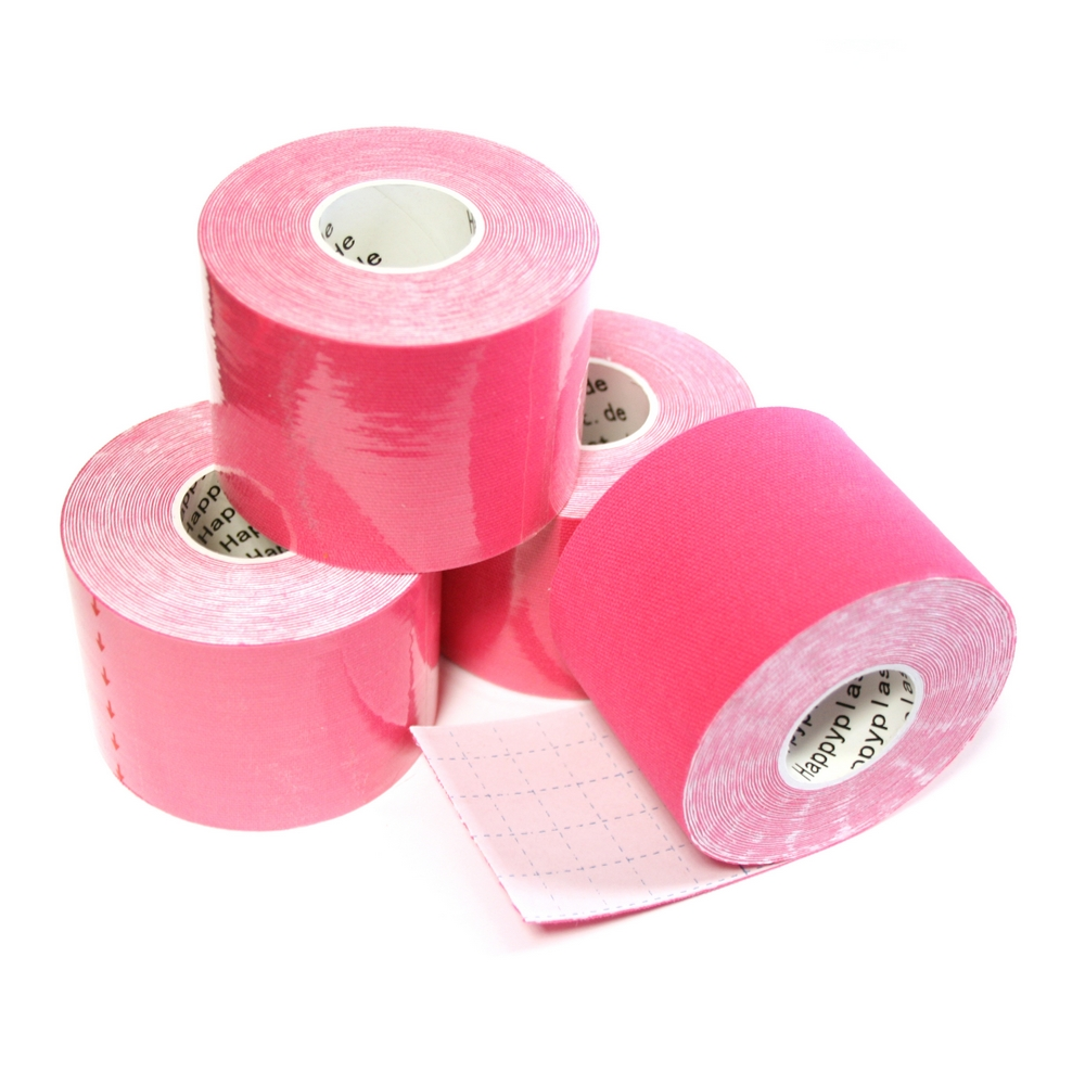Kinesiologie Tape 5cm, pink (1Rolle)