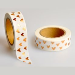 Washi Tape Folie Herzen