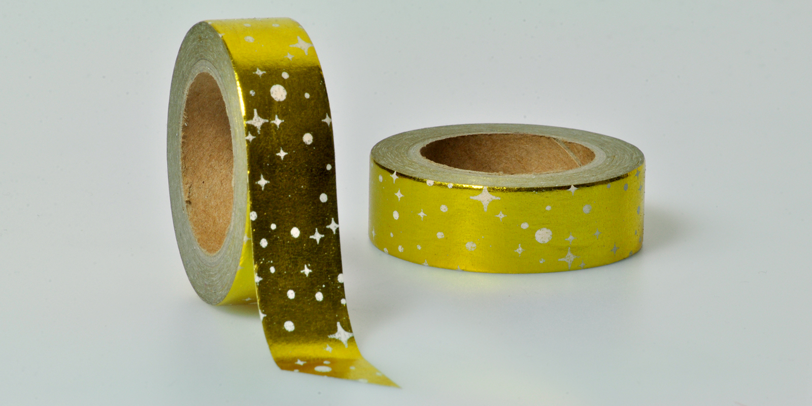 Washi Tape gold Sterne folia