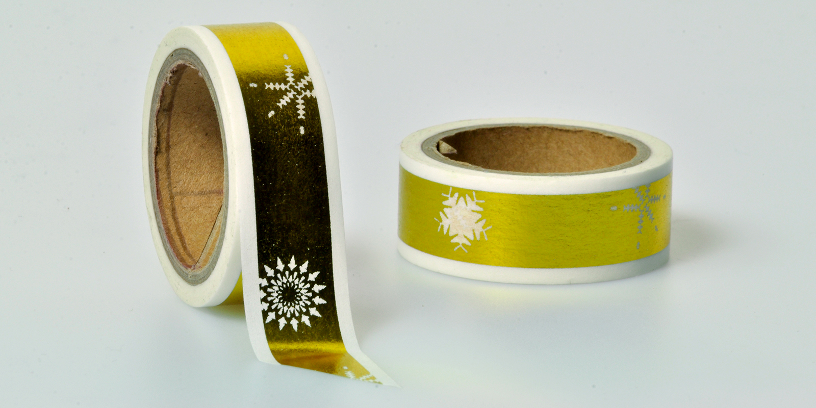 Washi Tape gold muster
