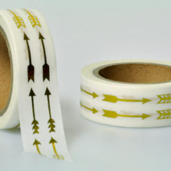 Washi Tape gold Pfeile
