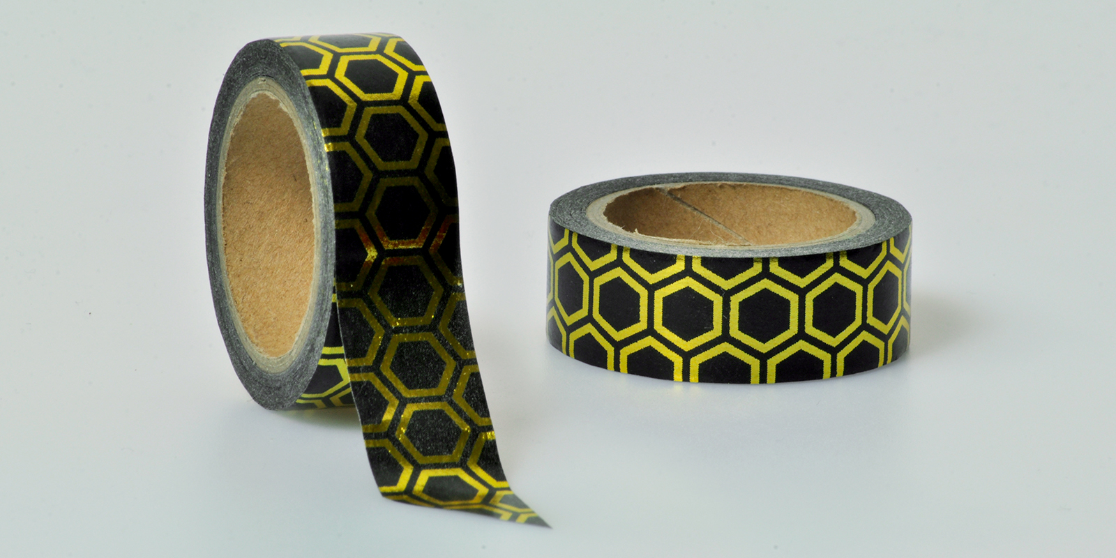 Washi Tape gold schwraz