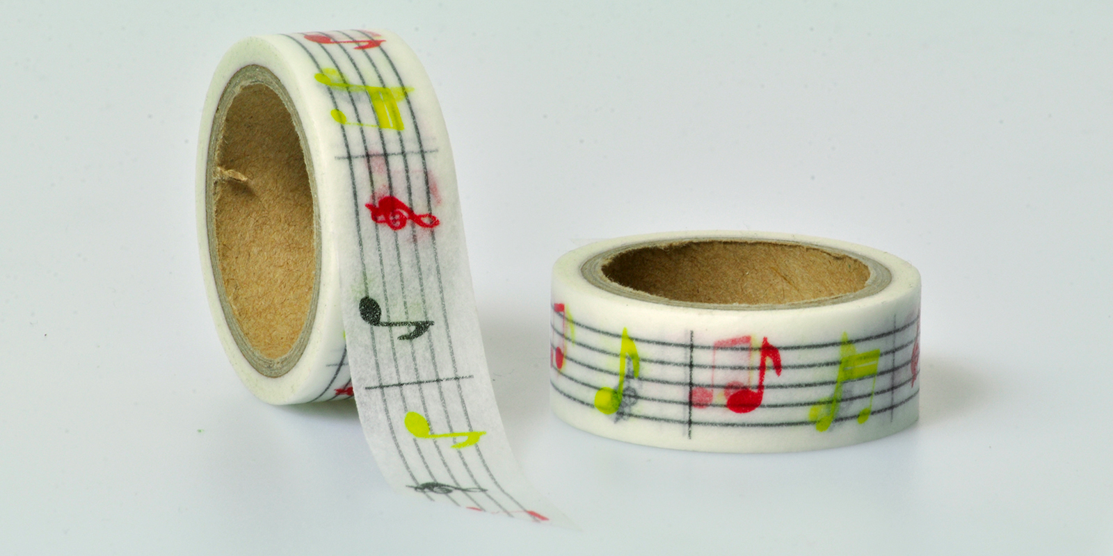 Washi Tape Music Noten