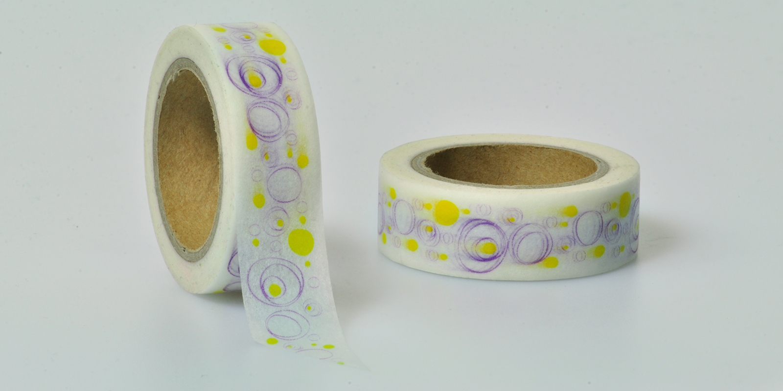 Washi Tape muster weiß