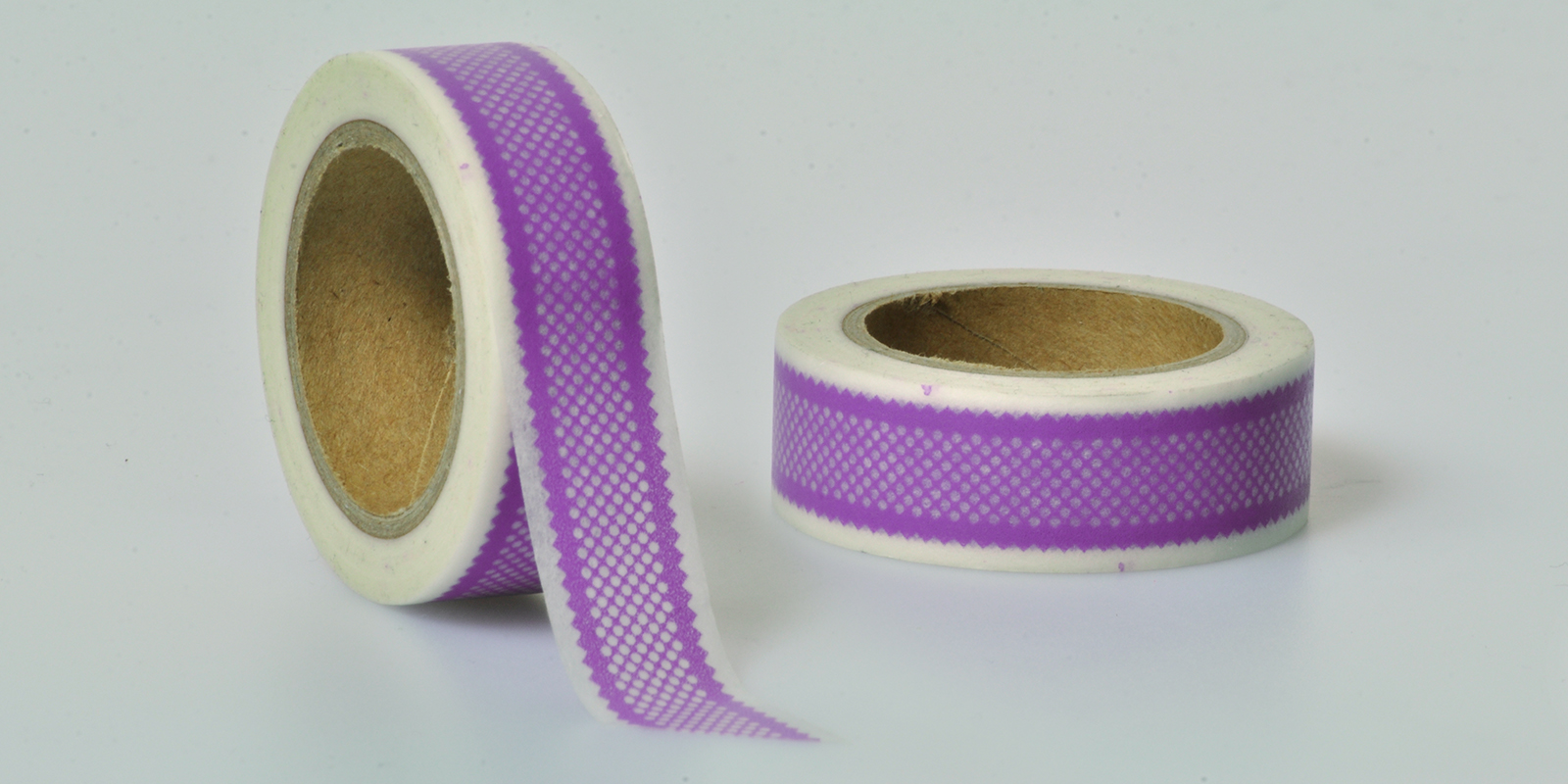 Washi Tape muster lila