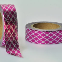 Washi Tape pink metallic