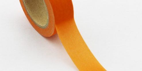 Washi Tape orange