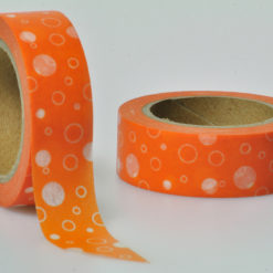 Washi Tape orange blasen
