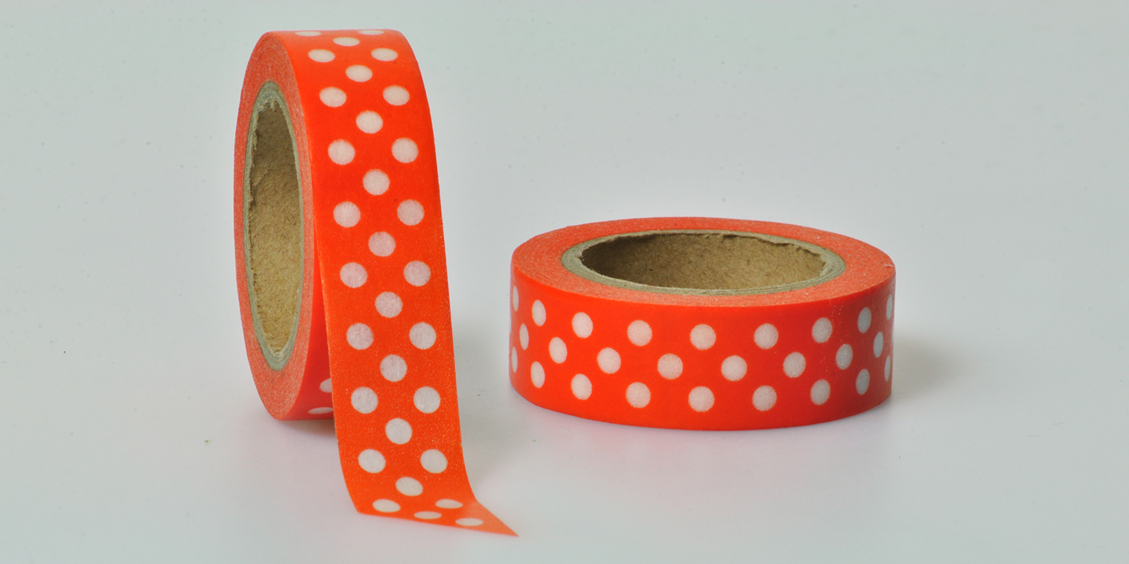 Washi Tape punkte orange