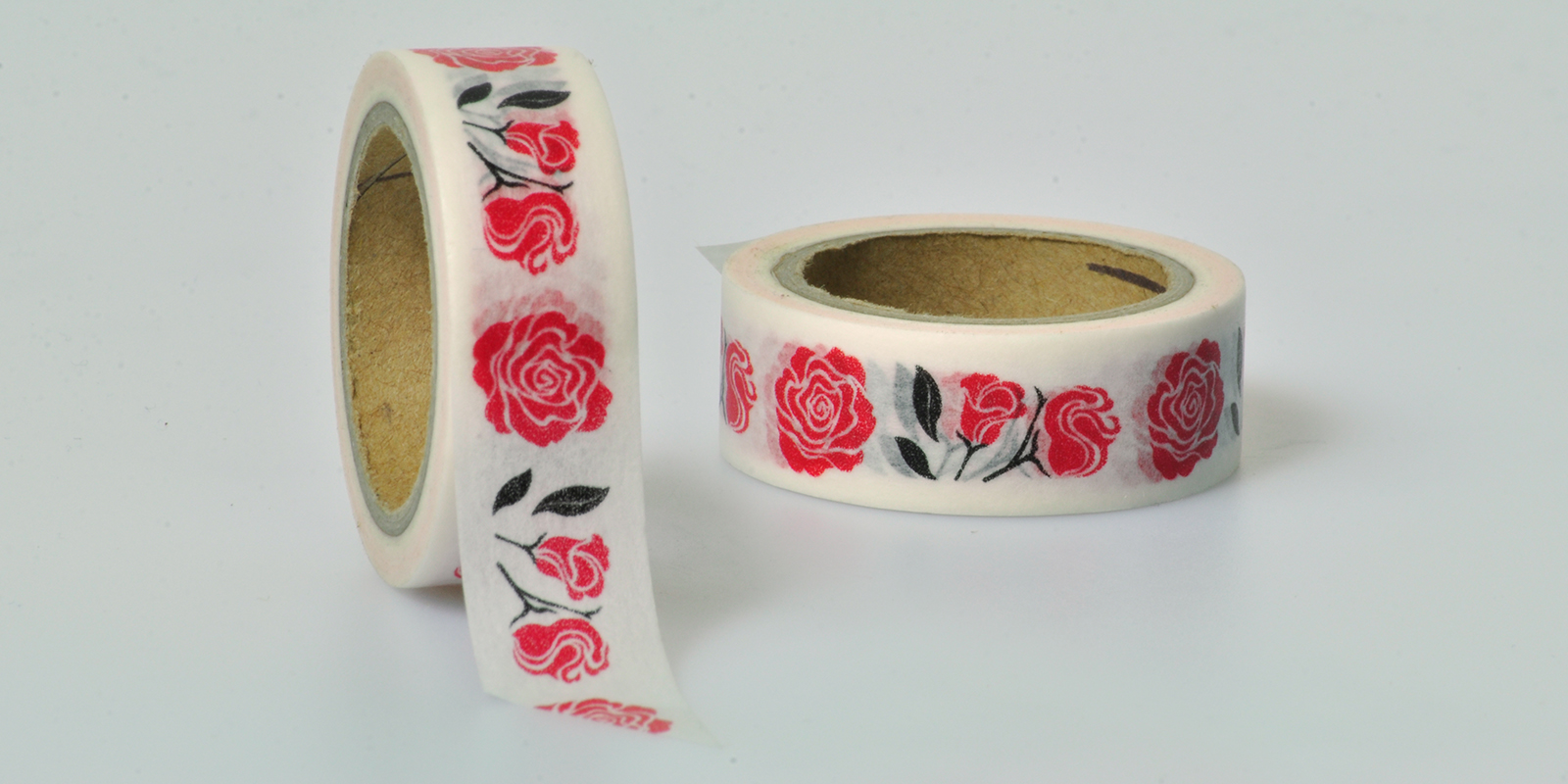 Washi Tape Rose Blumen