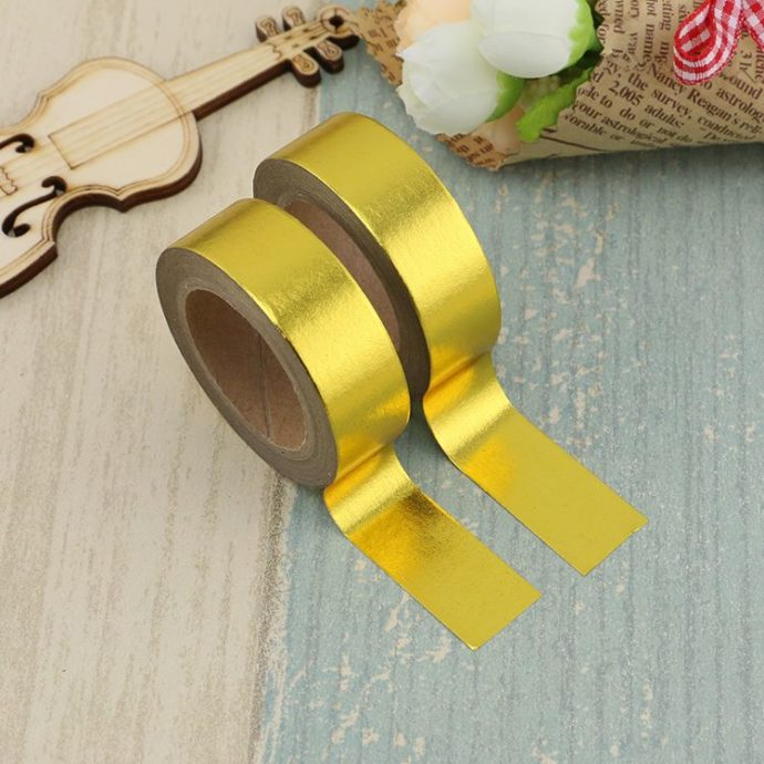 Washi Tape gold Folie