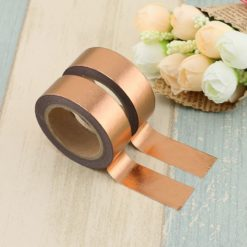 Washi Tape Folie rotgold