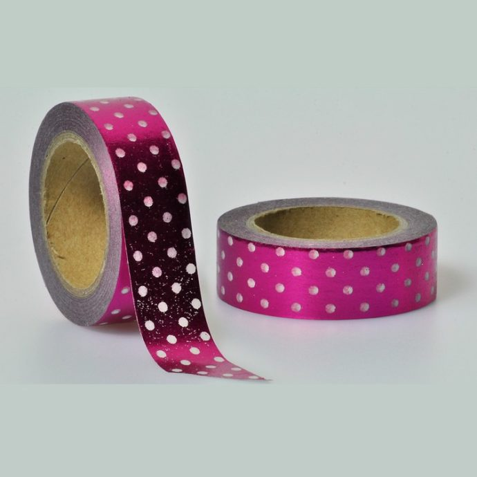 Washi Tape Folie Punkte