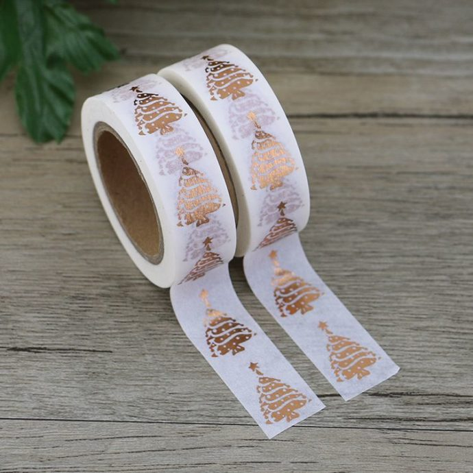 Washi Tape Folie Weihnachten
