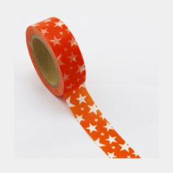 Washi Tape Sterne orange